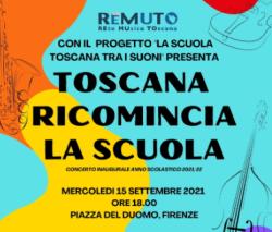 """""""Toscana Ricomincia la scuola"""""""