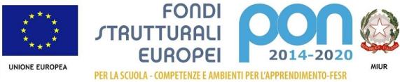 Fondi Strutturali Europei PON 2014-2020